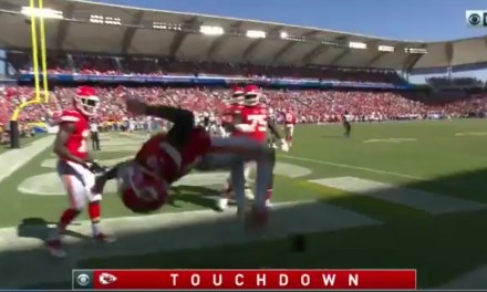 Tyreek Hill Celebrated His Third Touchdown with a Backflip