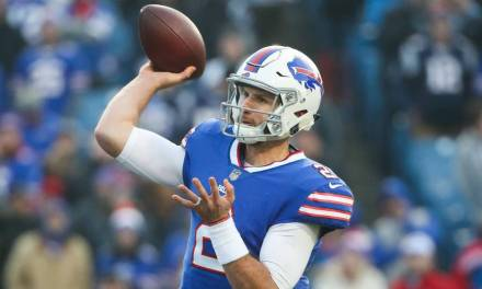 The Nathan Peterman Era Lasted a Little over 30 Minutes for the Bills