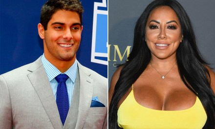 Jimmy Garoppolo's Porn Star Date Kiara Mia was Rooting for Him in Week 1