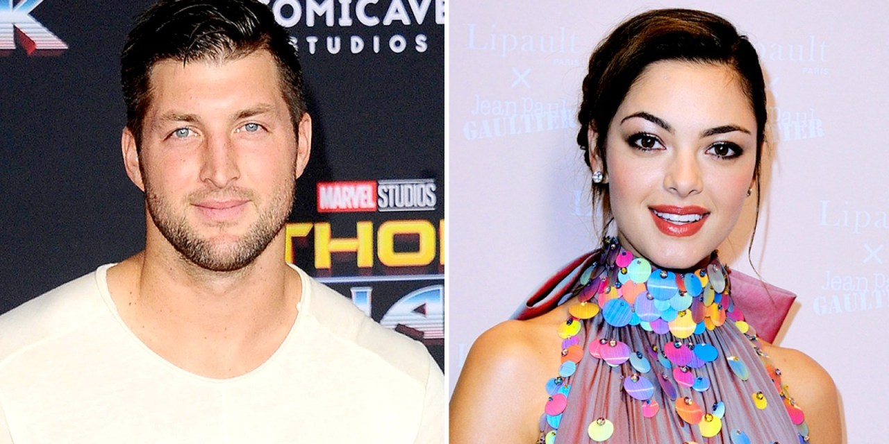 Tim Tebow Steps out with Miss Universe Girlfriend Demi-Leigh Nel-Peters