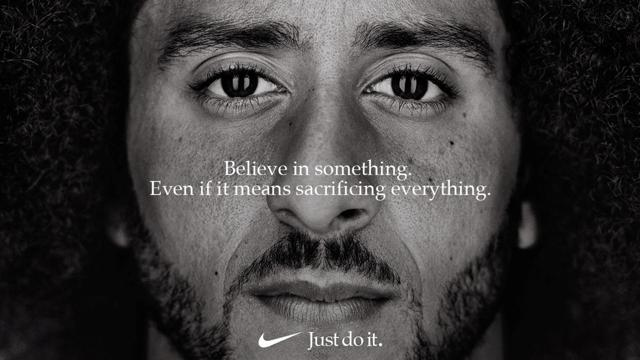 Nike Stock Soaring With The Colin Kaepernick Ad Campaign