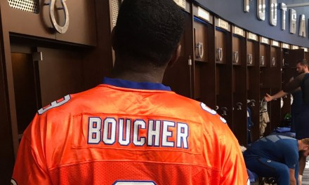 Jacoby Brissett Wore a Bobby Boucher Jersey in the Colts Locker Room