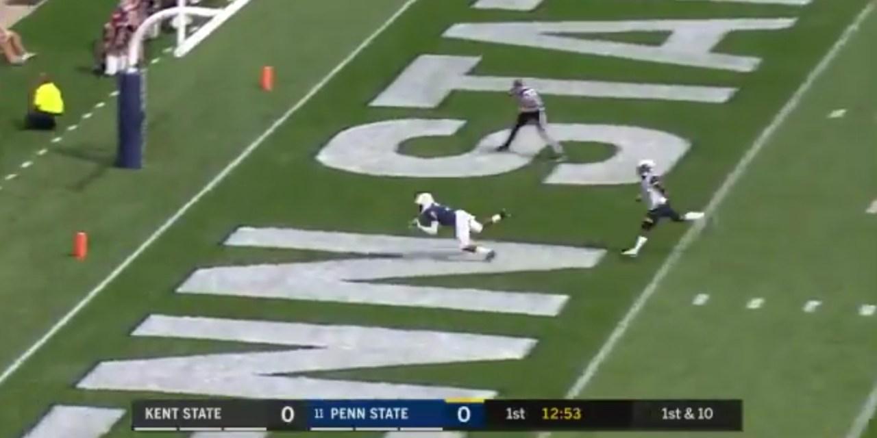 Penn State QB Trace McSorely Can Still Throw the Deep Ball