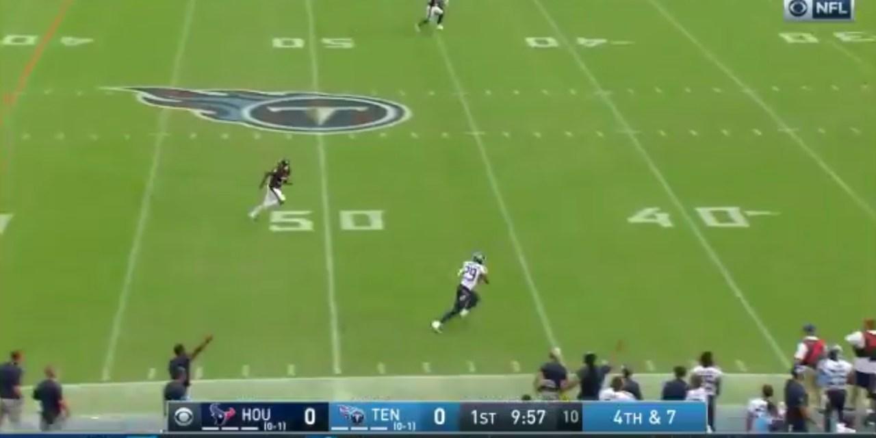 Titans Score a Touchdown on a Fake Punt