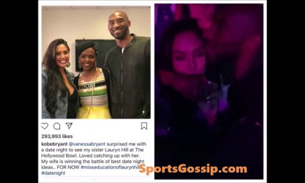 Kobe and Vanessa at Lauryn Hill Concert