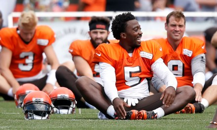 Browns Favored at Home for the First Time Since 2015