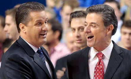 Rick Pitino Takes a Shot at John Calipari in His New Twitter Bio