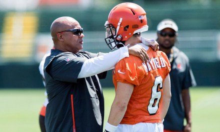 Hue Jackson will Name Baker Mayfield the Browns Starting Quarterback on Monday