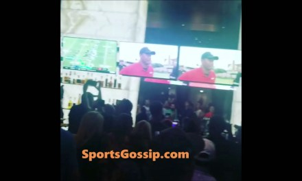Tiger Woods Restaurant 'The Woods' was Giving Away Free Shots for Every Tiger Birdie