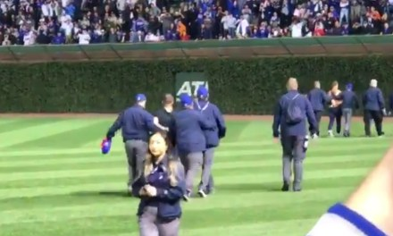 Cubs Security Takes Out Multiple Streakers