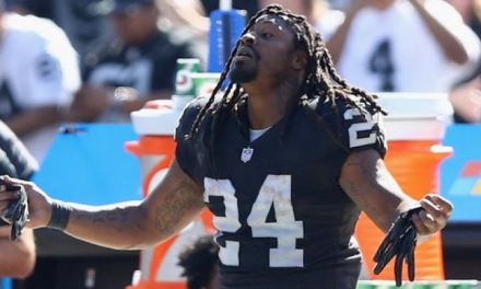 Marshawn Lynch Says the Raiders are a Play Away from Being the Most Explosive Offense in the League