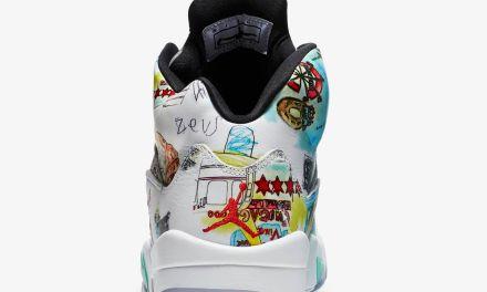 An Official Look at the 'Wings' Air Jordan 5