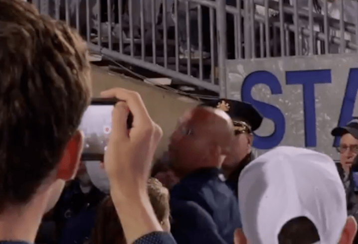 James Franklin Exchanged Words with Penn State Fan After Loss to Ohio State