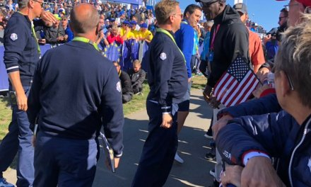 Michael Jordan Was Told He Couldn't Go on the First Tee at the Ryder Cup
