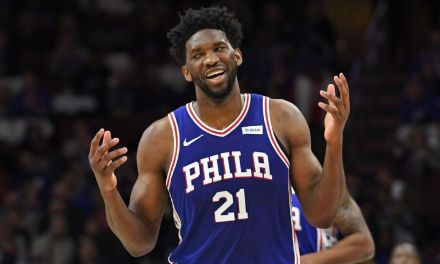 Joel Embiid Dating SI Swimsuit Model Anne De Paula