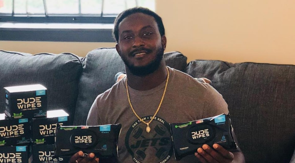 Jets RB Isaiah Crowell Lands a Lifetime Supply of Dude Wipes after TD Celebration