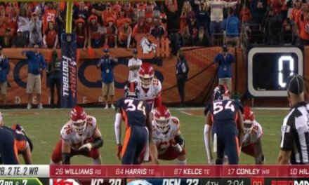 Broncos Say Refs Admit Key Missed Play-clock Call