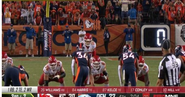 Broncos Say Refs Admit Key Missed Play-clock Call