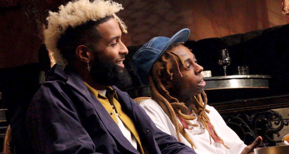 Odell Beckham Jr. and Lil Wayne Do Tandem Sit Down Interview