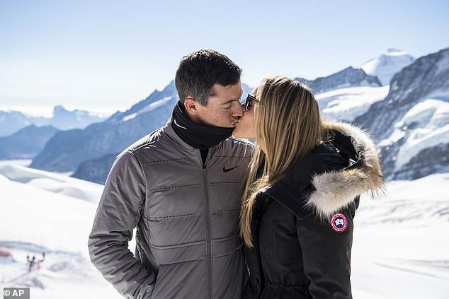 Rory McIlroy and Wife Erica Stoll Take Their Love to the Swiss Alps