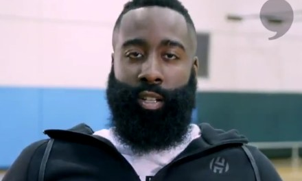 James Harden Has an Inspirational Message for the Astros
