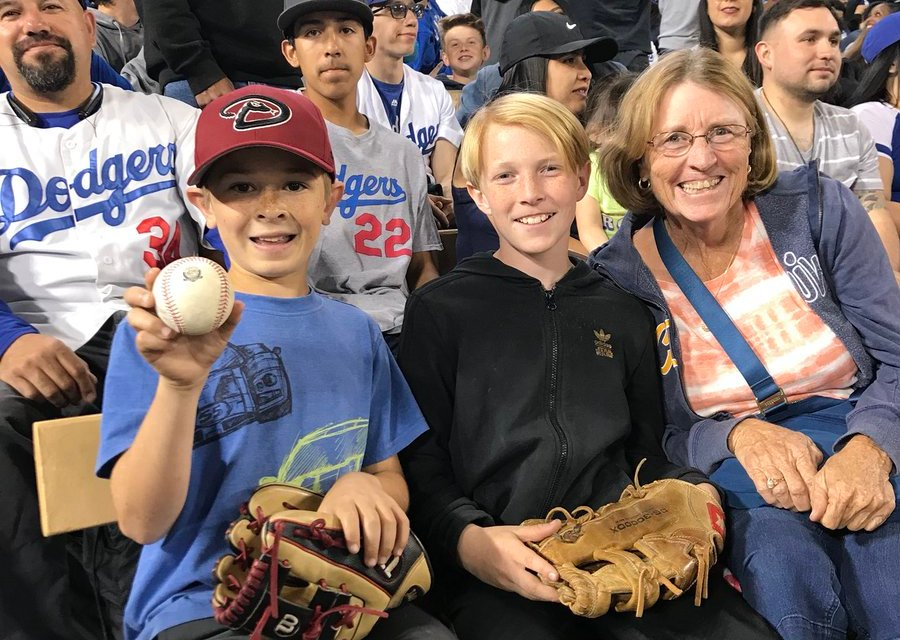 Young fan Donovan Farrell Catches Manny Machado HR on Birthday