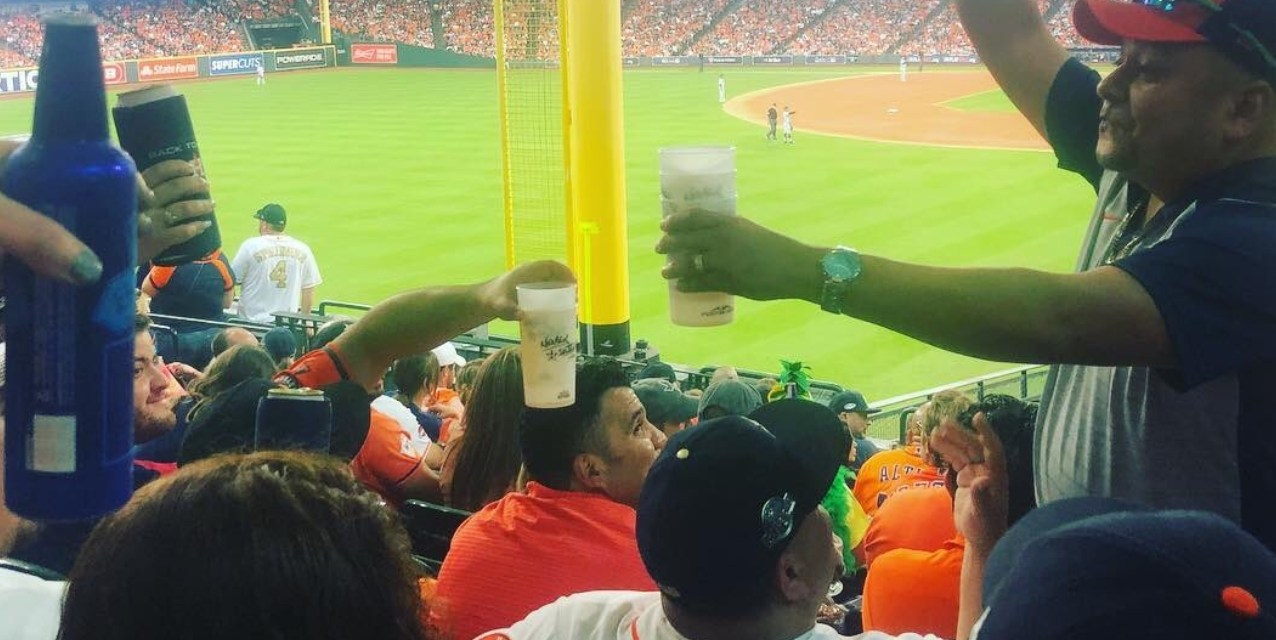 Astros Fan Buys Beer for Entire Section after a George Springer Home Run
