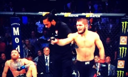 Khabib Nurmagomedov Submitted Conor McGregor in the 4th Round then All Hell Broke Loose