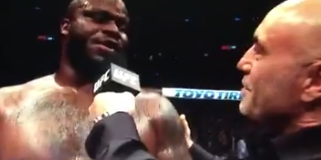 UFC Heavyweight Derrick Lewis Delivered an All-Time Post-Fight Interview after a KO Victory