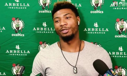 J.R. Smith Issues a Warning to Marcus Smart after Smart's Postgame Interview
