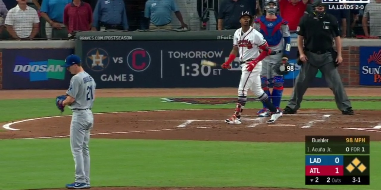 Ronald Acuna Jr's Grand Slam Helps the Braves Win Game 3