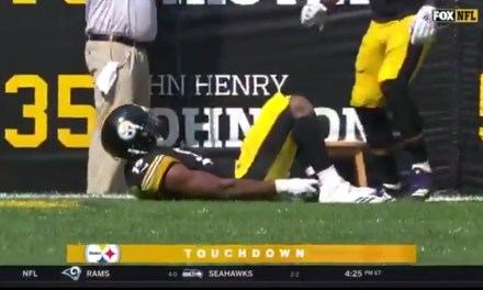 JuJu Smith-Schuster Gave Birth After Scoring a Touchdown