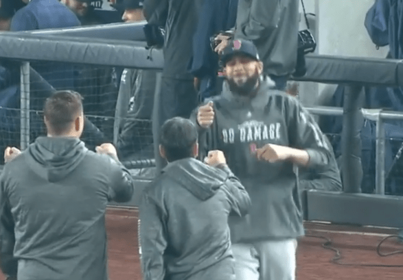Yankees Fans Gave David Price a Standing Ovation Before Game 3