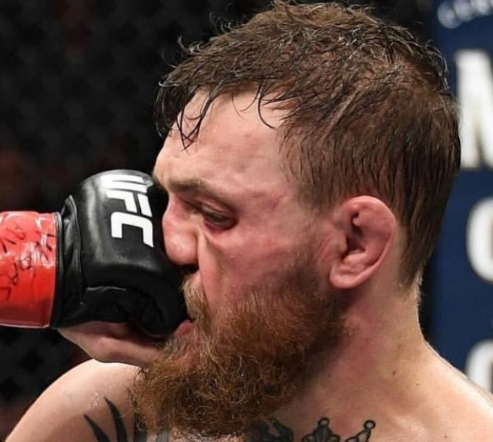 Someone Turned this Khabib Punch Into a Mural