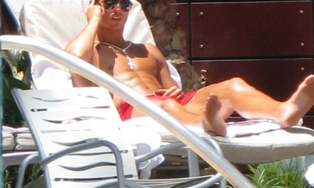 Cristiano Ronaldo Relaxes with a Massage in Footage Filmed 'Hours After' Alleged Assault
