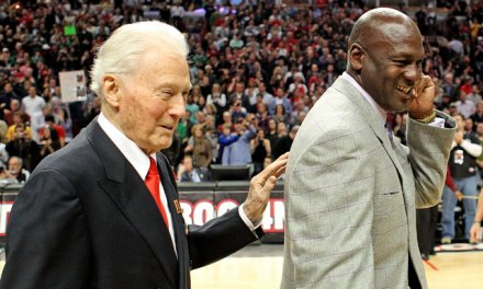 Michael Jordan Pays His Respects to Tex Winter