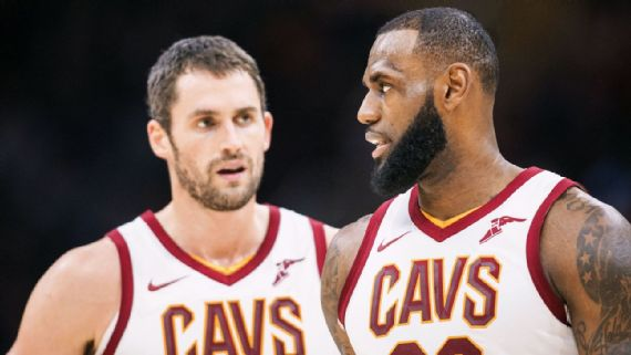 Kevin Love Says 'There Were Dark Times' Playing with LeBron