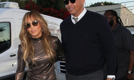 A-Rod and J-Lo Hit UP Craigs in West Hollywood