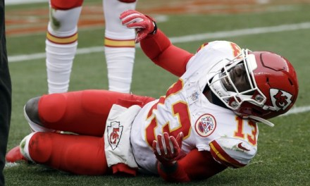 Chiefs WR De'Anthony Thomas Re-Fractured His Leg in Practice