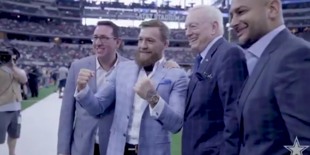 The Cowboys Hung Out with Conor McGregor Before Beating the Crap Out of the Jaguars