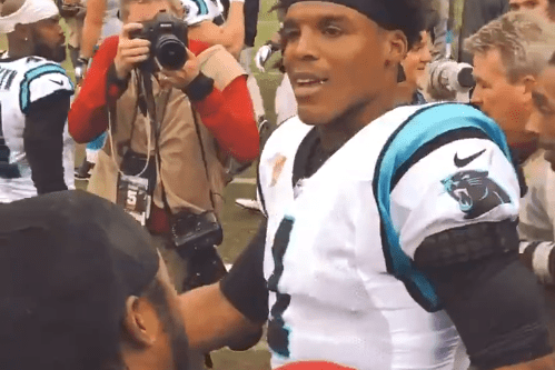 Josh Norman Wouldn't Let Cam Newton Ignore Him After the Game