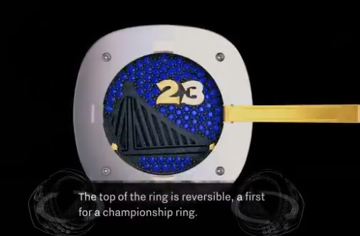 Golden State Warriors Get Reversible NBA Title Rings