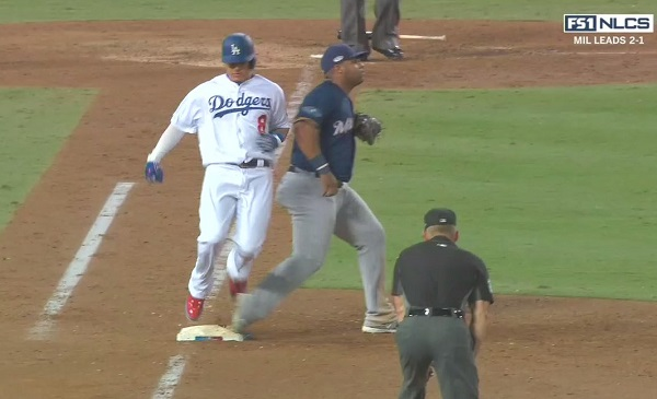 """Manny Machado Has Been Fined for """"Dirty Play"""" in Game 4"""