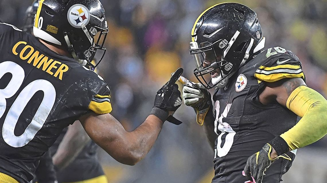 James Conner Says Le'Veon Bell Texts Him After Huge Plays