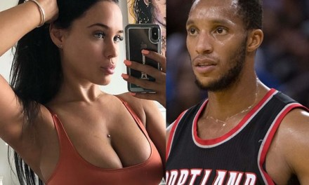 Evan Turner's Girlfriend Sarah MacDonald Showed Up for His Game Against the Lakers