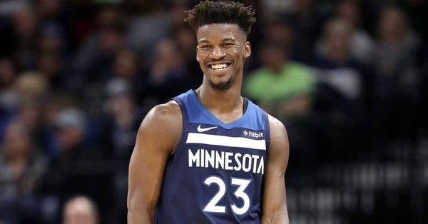 Timberwolves Fans' Boos Make Jimmy Butler Smile