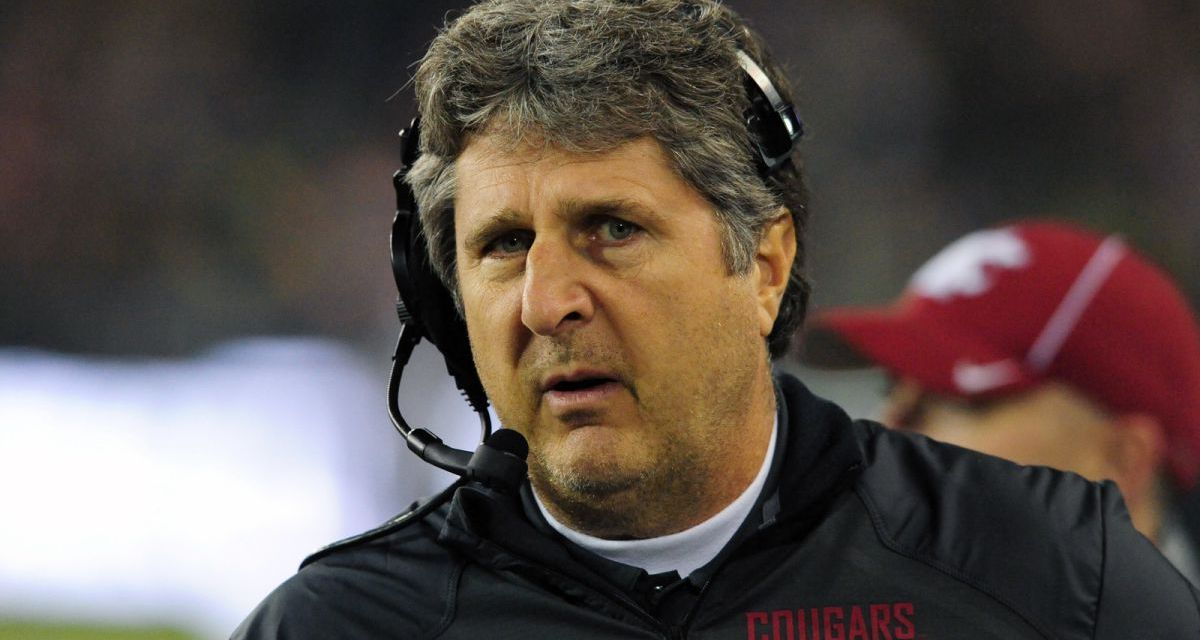 Mike Leach Blasts Officials in Text Messages to Pac-12 Executives