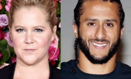 Colin Kaepernick Likes Amy Schumer's Thoughts On White People Not Kneeling