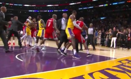 Rajon Rondo and Chris Paul Exchanged Punches in Los Angeles