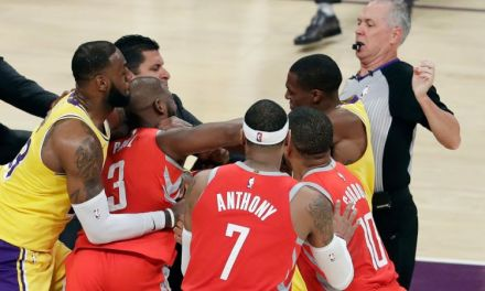 The NBA Hands Out Suspensions for Rajon Rondo and Chris Paul Fight